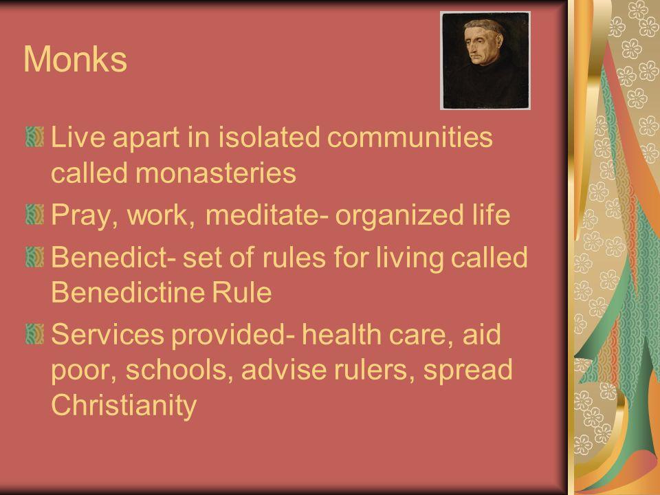 4 Monks Live Apart