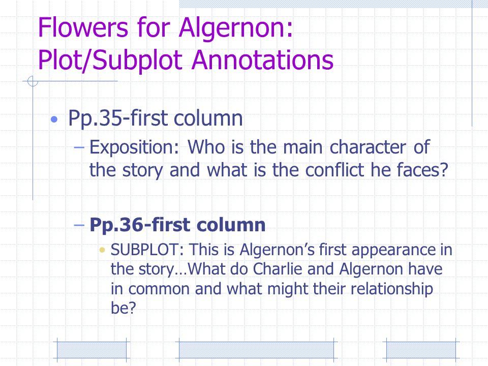 an essay on flowers for algernon