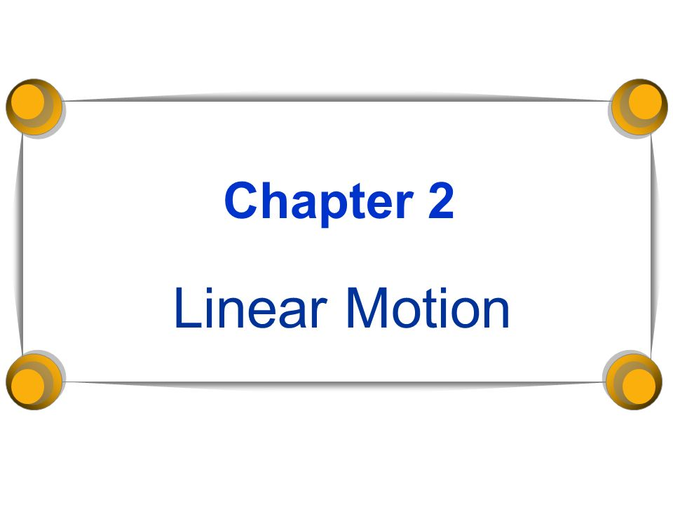 Chapter 2 Linear Motion Relative Motion Relative Motion – Relative Motion Worksheet