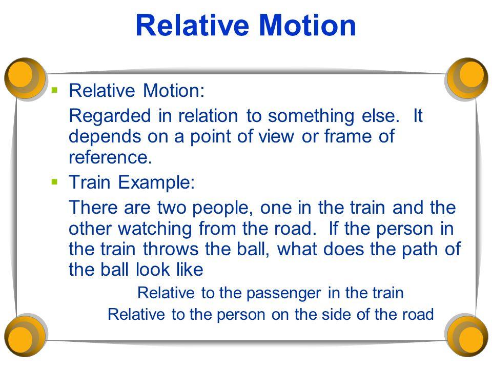 Relative Motion Frame Of Reference Worksheet - Education Worksheets