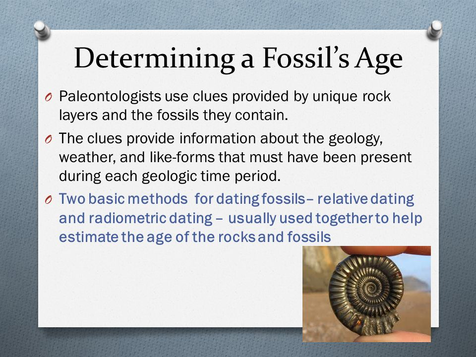 What is the most accurate method of dating fossils