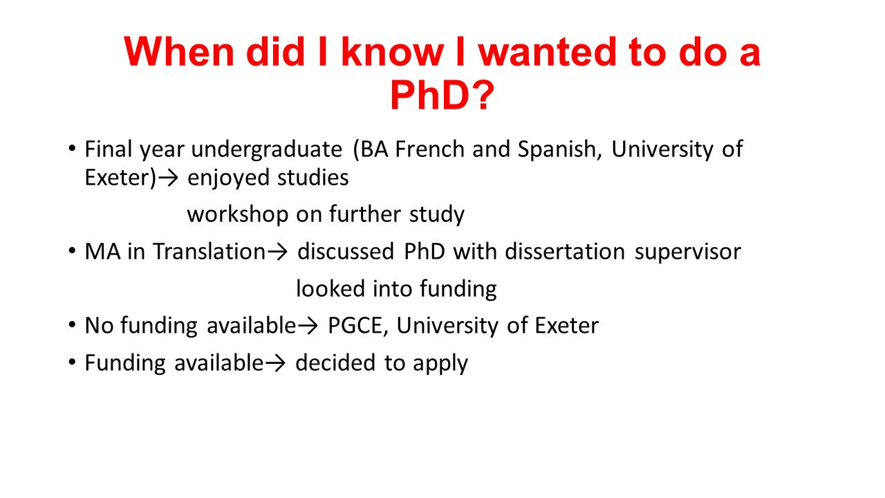 do i want to do a phd A bright motivated undergrad decides to ask her professor for a recommendation to graduate school.