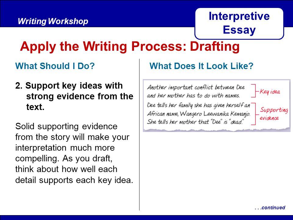 Interpretive Essay
