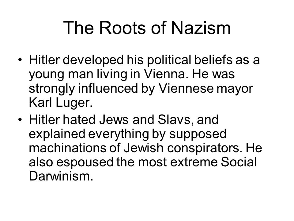 Chapter 29 Part II Mussolini & Fascism in Italy Hitler & Nazism in ...