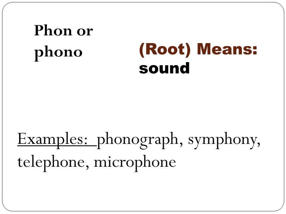 Week 3 Greek And Latin Roots Hydro Hydra Phon Phono Bio