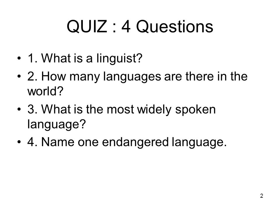 The Joy Of Language Distinguished Professor Alexandra Y - How many spoken languages are there in the world