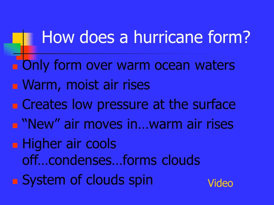 HURRICANES Source: - ppt download