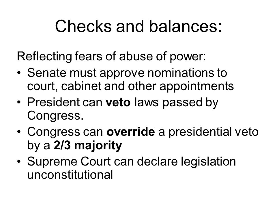 The United States: A Presidential-Congressional System. - ppt download