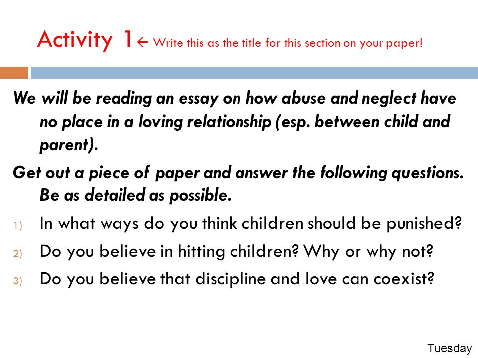 justice childhood love lessons csu module you will learn how to  3 activity