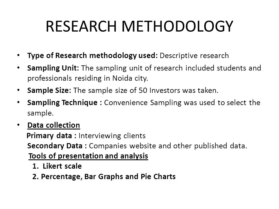 research methodology unit 22