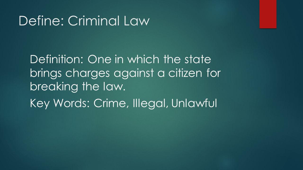 criminal case definition 64619 | loadtve