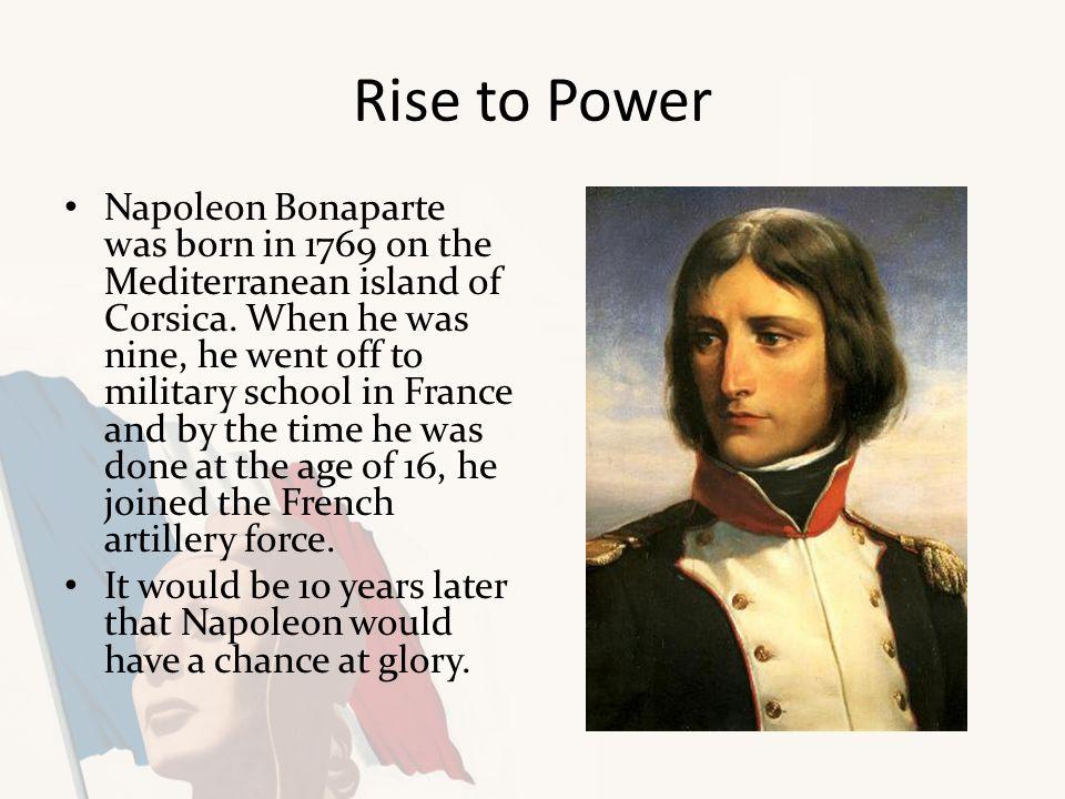a napoleon bonaparte rise of power