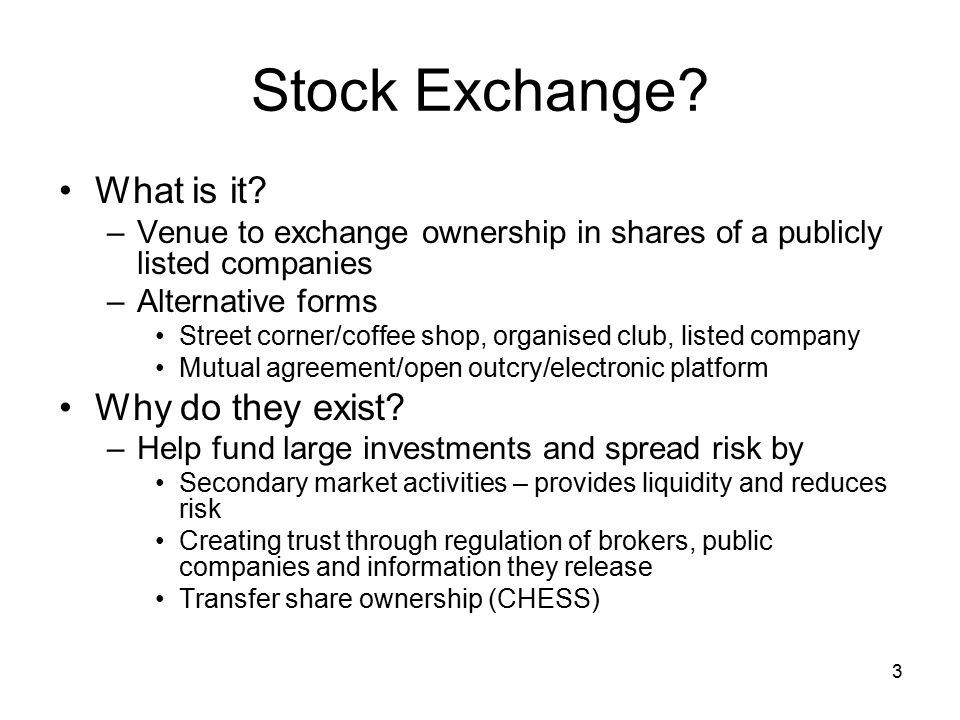 Asx trading process 2 outline stock exchange sircas role in asx 3 3 platinumwayz