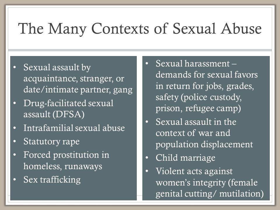 point power sexual assault