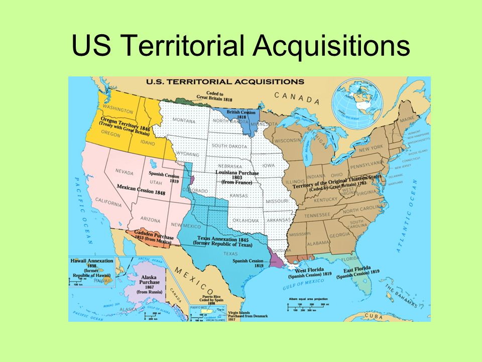 13 us territorial acquisitions
