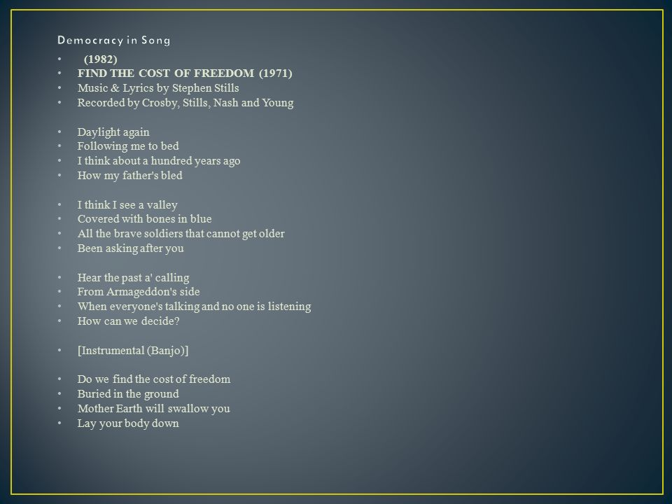Lyric bones lyrics : Songs Cartoons Quotes. FORTUNATE SON Music and lyrics by J.C. ...