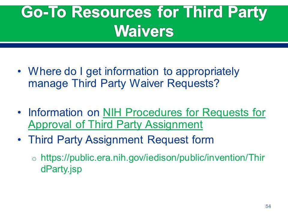 Caveats before we begin: This presentation describes the NIH ...