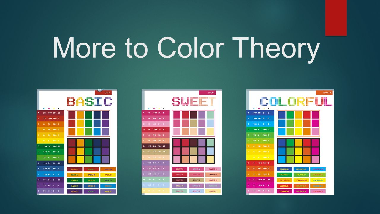 Book for color theory - 1 More To Color Theory