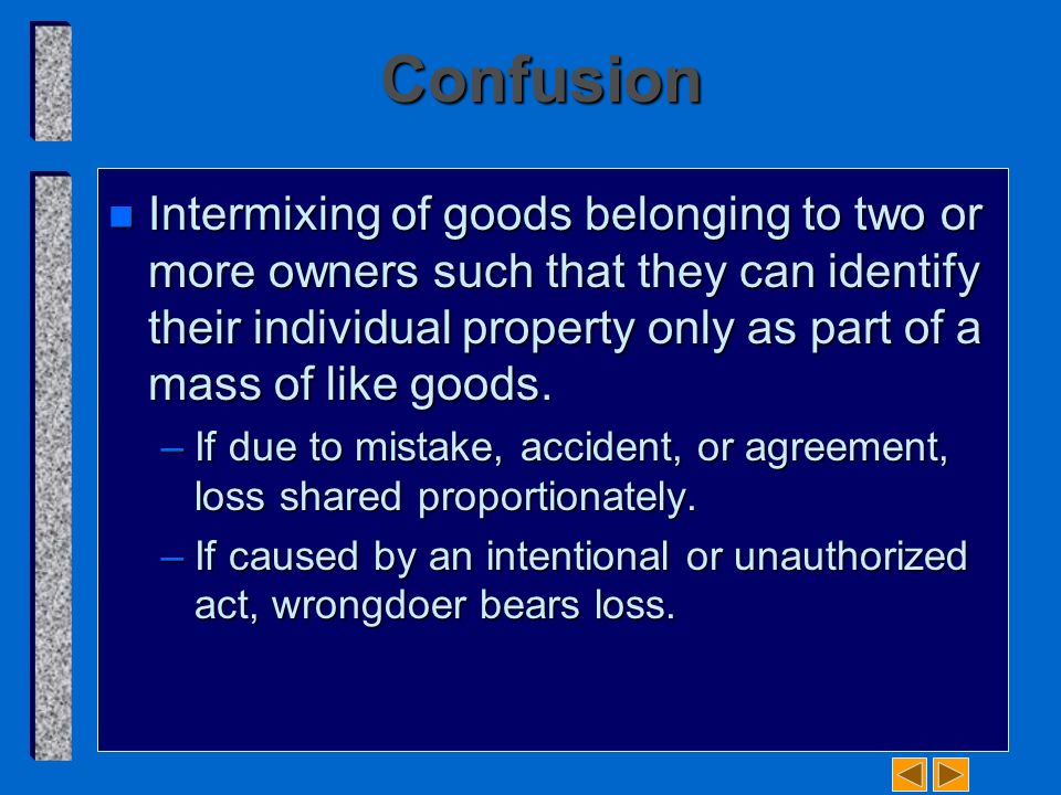 Business law and the regulation of business chapter 49 introduction 6 confusion platinumwayz
