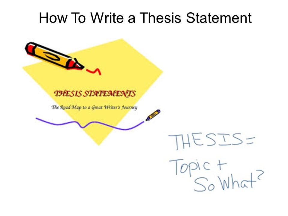 Topics For Thesis Statements