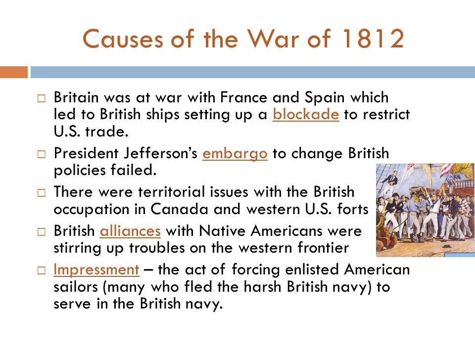 the causes of the war of 1812 Warof1812,historical$thinkinglesson6$ thehistoricalthinkingproject,2012$ causes and consequences of the war of 1812: as seen throughout the decades.