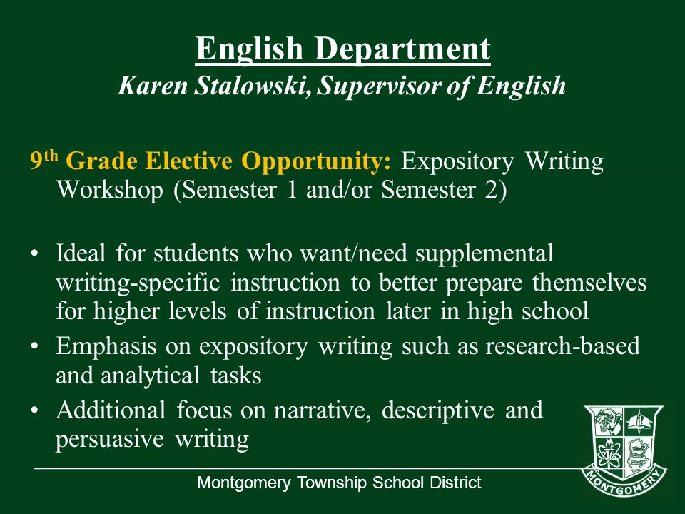 high school english essay structure By the time high school graduation comes around students should have acquired a solid working understanding of the basic essay structure unfortunately, not all high school english departments are created equal, and some students may find the prospect of writing their college admissions essay more than a little daunting.