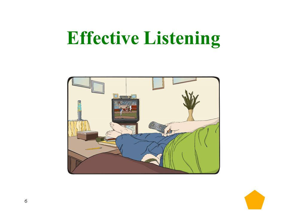 7 Active Listening… Reflects back Rephrases and confirms Is nonjudgmental Strives to hear