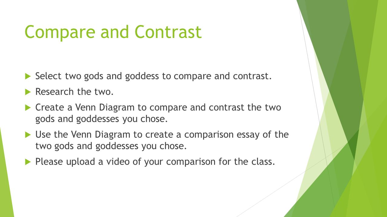 art comparative and contrast essay In this post, i'll show you how to develop a compare and contrast essay outline that lets you beat writer's block and craft a great essay about anything.
