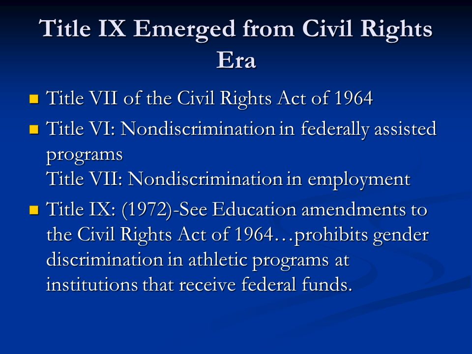 a history of the affirmative action and the civil rights act of 1964 The 1964 civil rights act and the conservative movement the civil rights act of 1964 prohibits discrimination in affirmative action and civil rights in.