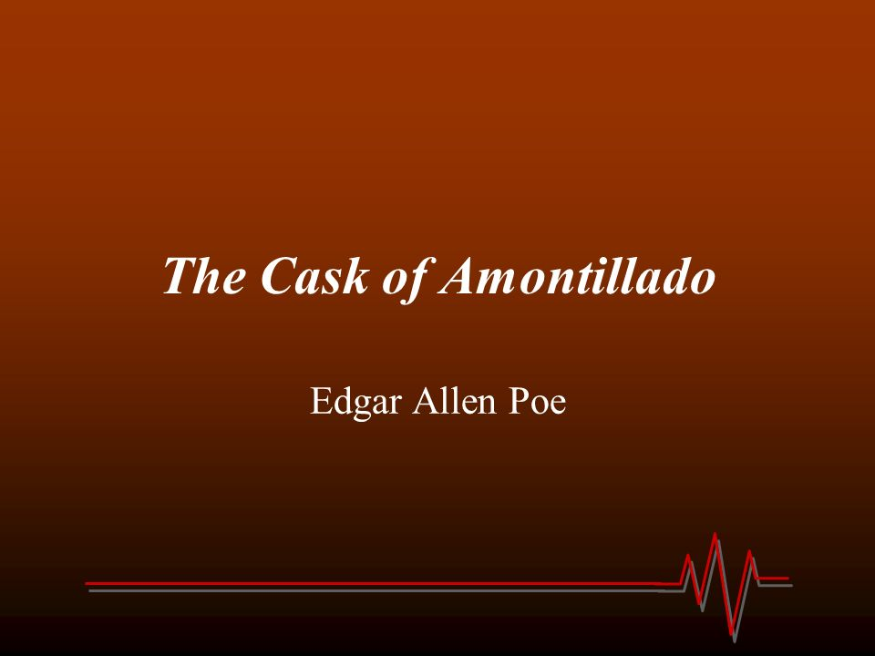 essays on the cask of amontillado analysis