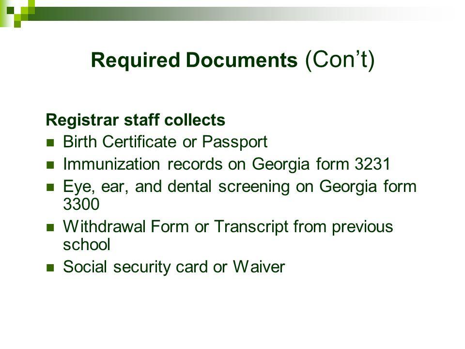International Student Registration Hall County Schools. - ppt download