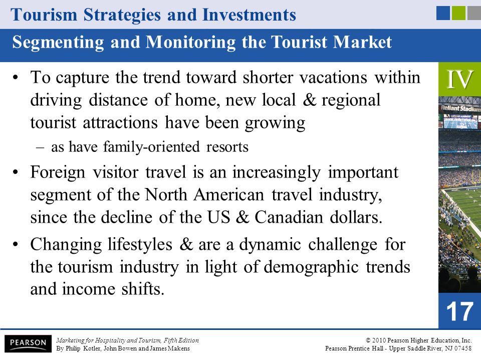 Marketing for Hospitality and Tourism, Fifth Edition By Philip Kotler, John Bowen and James Makens © 2010 Pearson Higher Education, Inc.