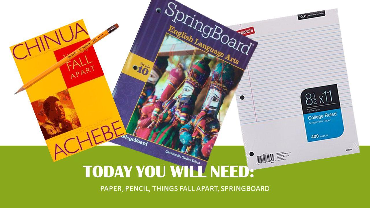 hero essay springboard