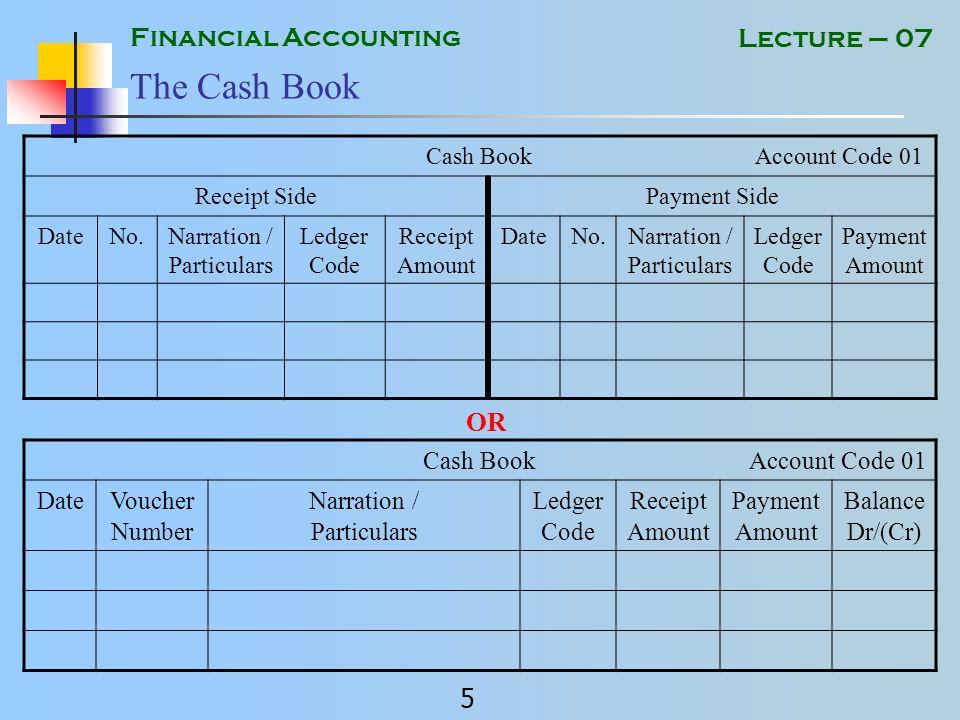 financial ledger books