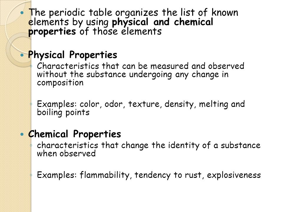 Elements and their properties unit 1 activity 2 what is an 3 the periodic table urtaz Images