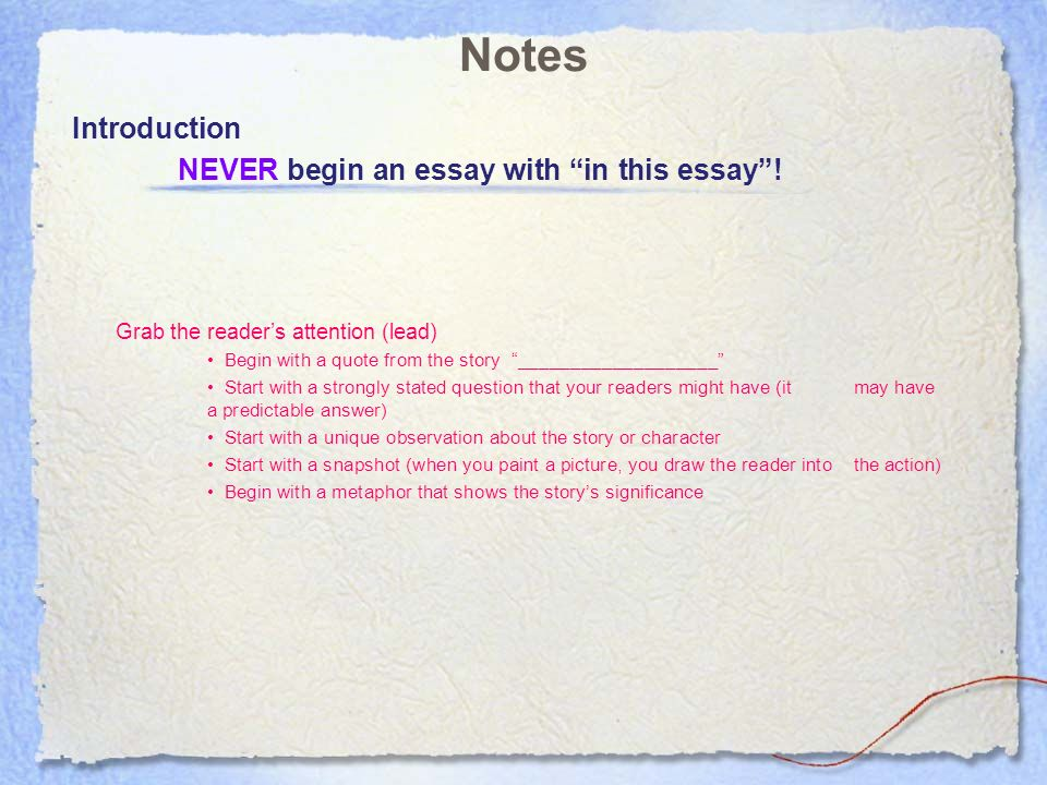 introductions to a cause effect essay introductions to a cause effect essay