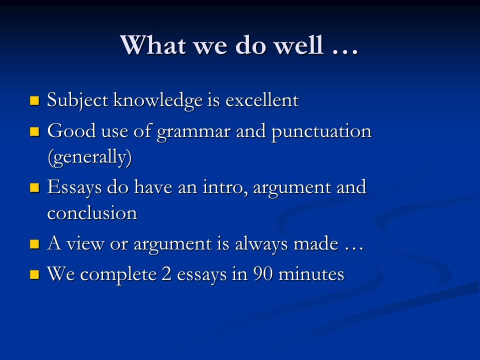 good introductions argument essays Writing introductions for essays, fall 2013 rev with a good grasp of your topic avoid long summaries of other arguments in your introduction as much as.