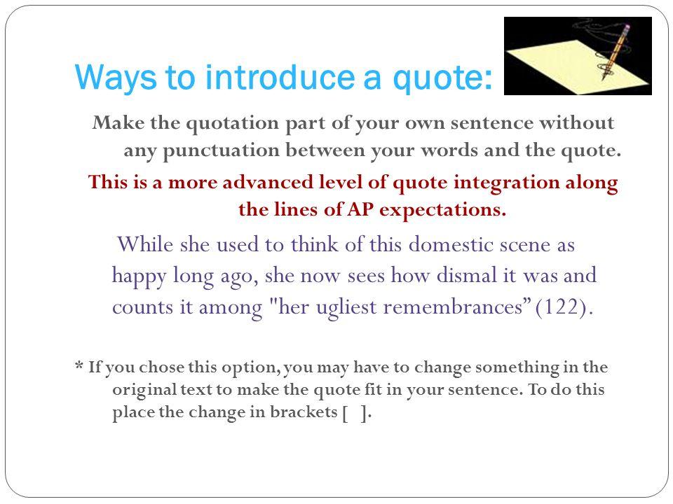 quotation integration