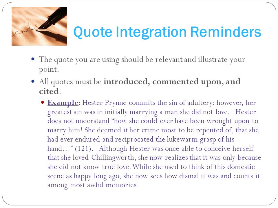 quote integration examples
