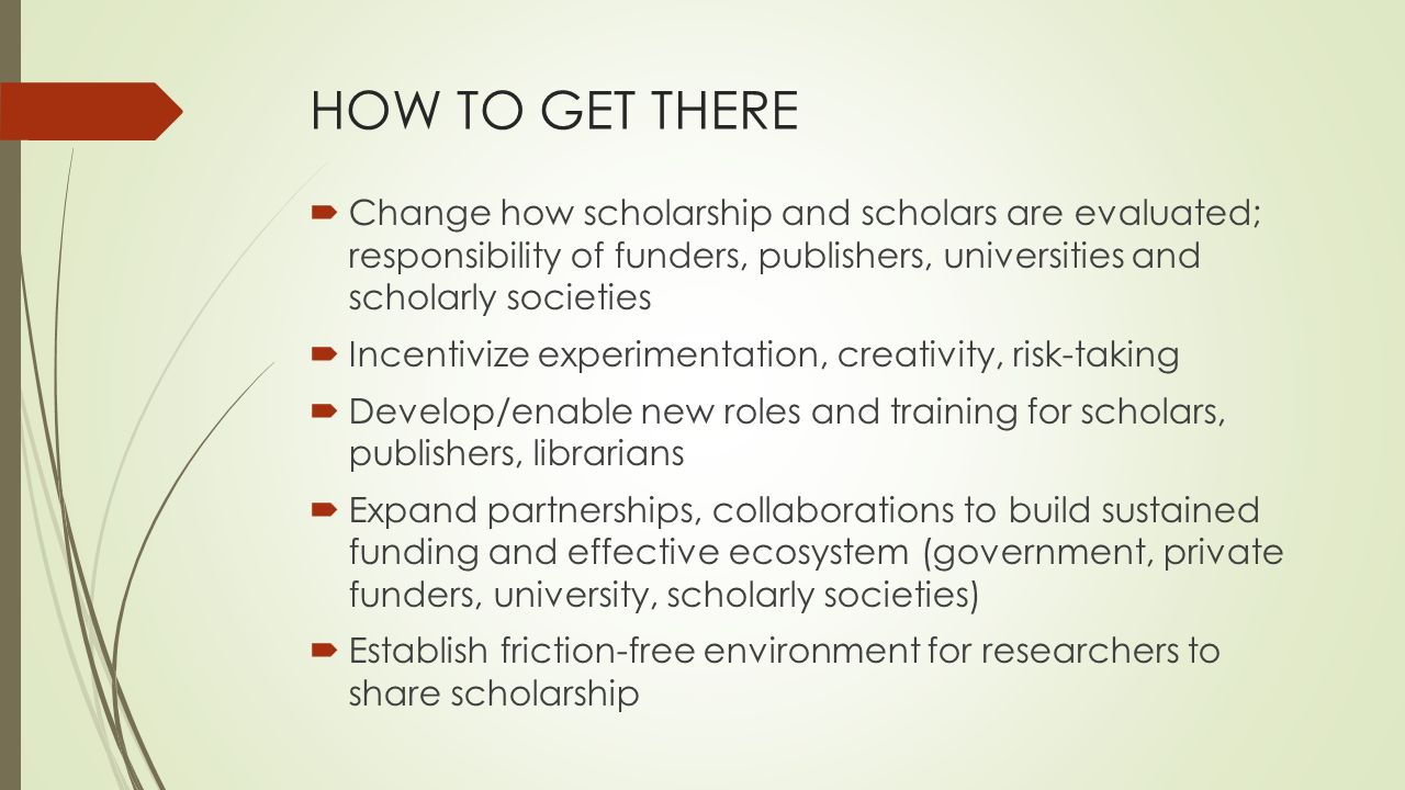 What is publishing 2 osi publishing today oldenburg 4 how to get there change how scholarship and scholars are evaluated responsibility of funders publishers universities and scholarly societies xflitez Images