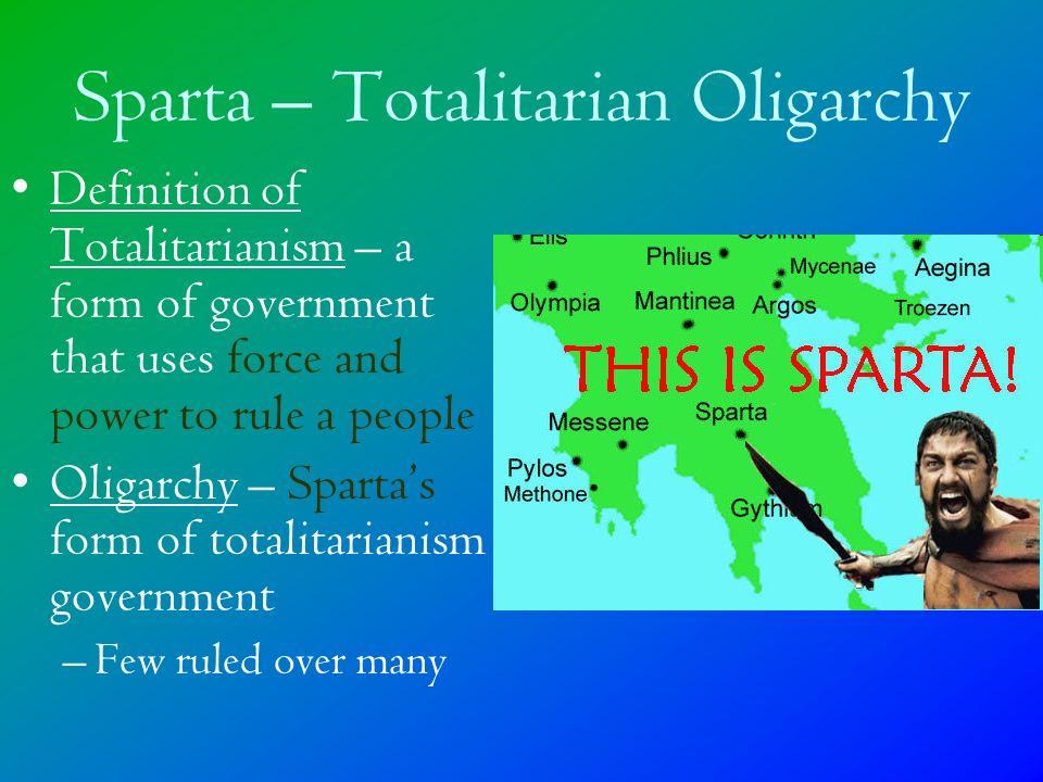 Sparta and Athens: Oligarchy vs. Democracy World History I. - ppt ...