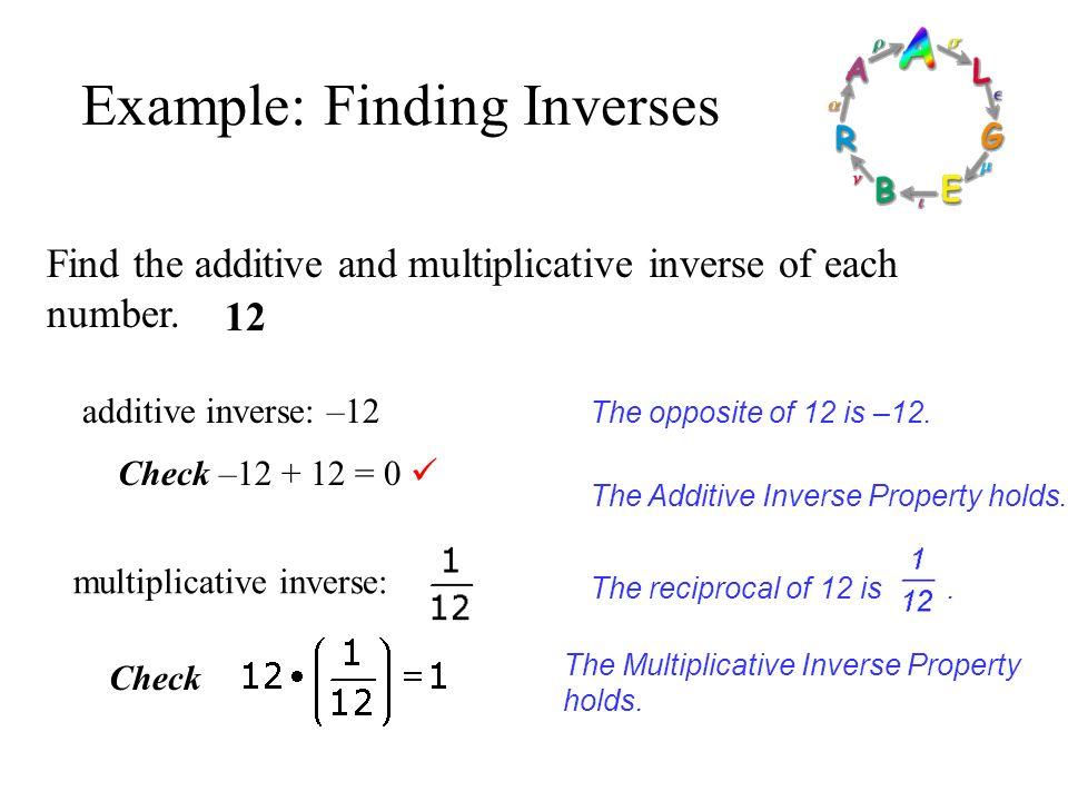 Pre-Algebra Examples