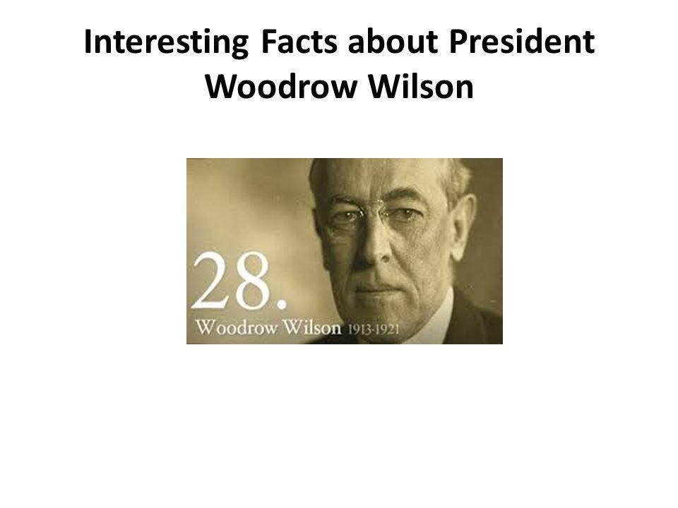 rhetorical analysis of president woodrow wilsons