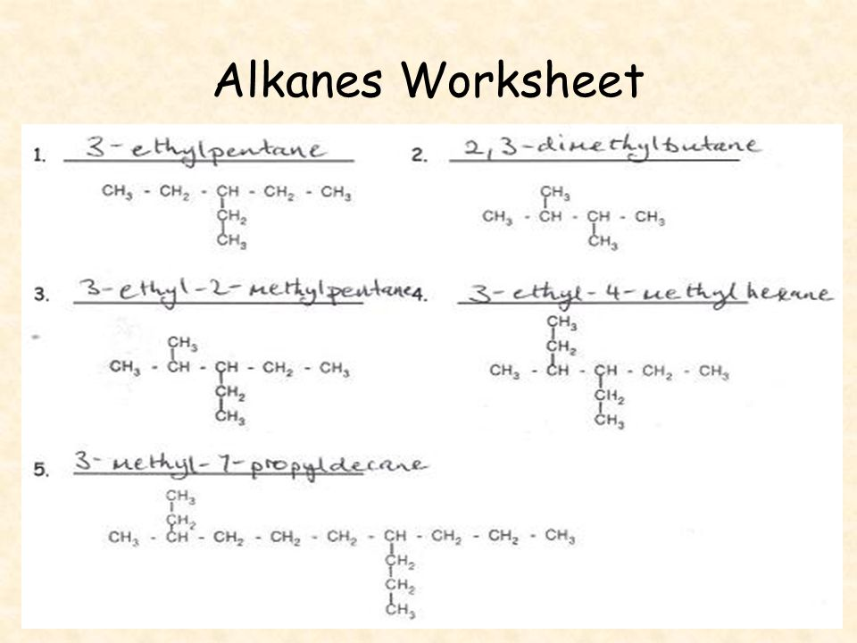 Speech Worksheets Pdf Chemistry  Unit C Organic Chemistry Chapter  And Ppt Download Sample Excel Worksheets Pdf with Maths Worksheets For Preschool Word  Alkanes Worksheet Relapse Triggers Worksheet Word