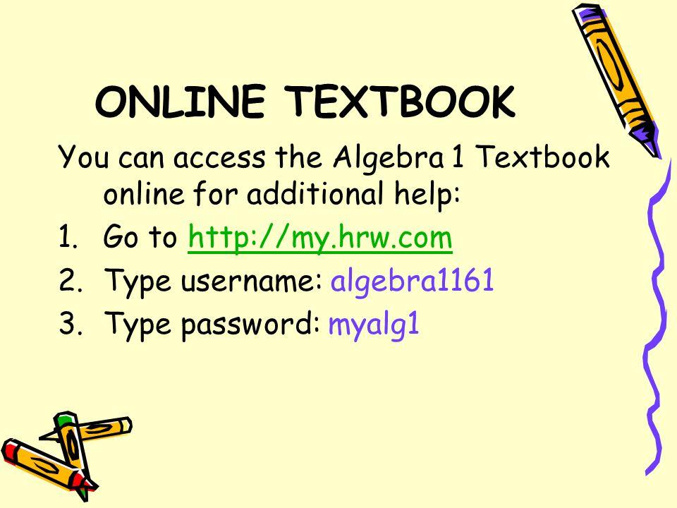 My.Hrw.Com Homework Help
