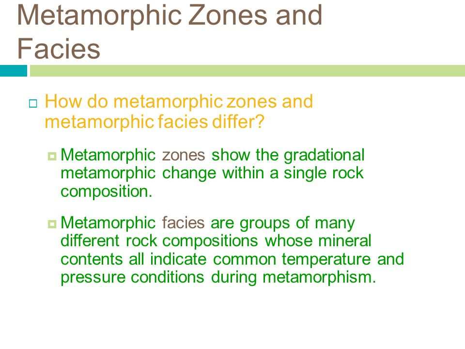 Chapter 8 Metamorphism and Metamorphic Rocks. Introduction ...