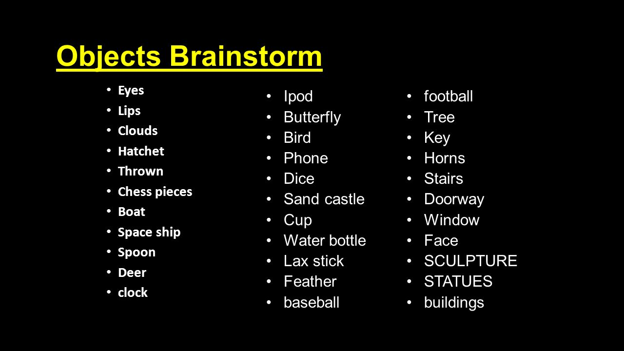 Planning for surrealism objects and their symbolism objectmeaning 25 objects brainstorm buycottarizona