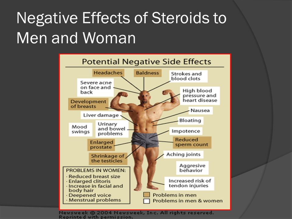 the effects of the use of steroids Anabolic steroids - abuse, side effects and there is a wide array of serious side effects associated with abuse of anabolic steroids 4 steroid use can alter the.