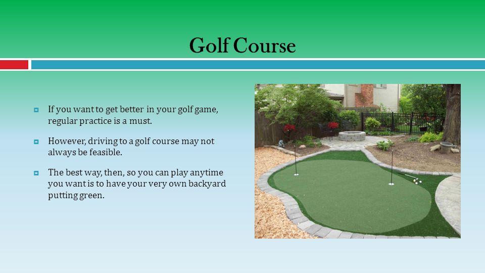 3 Golf ...