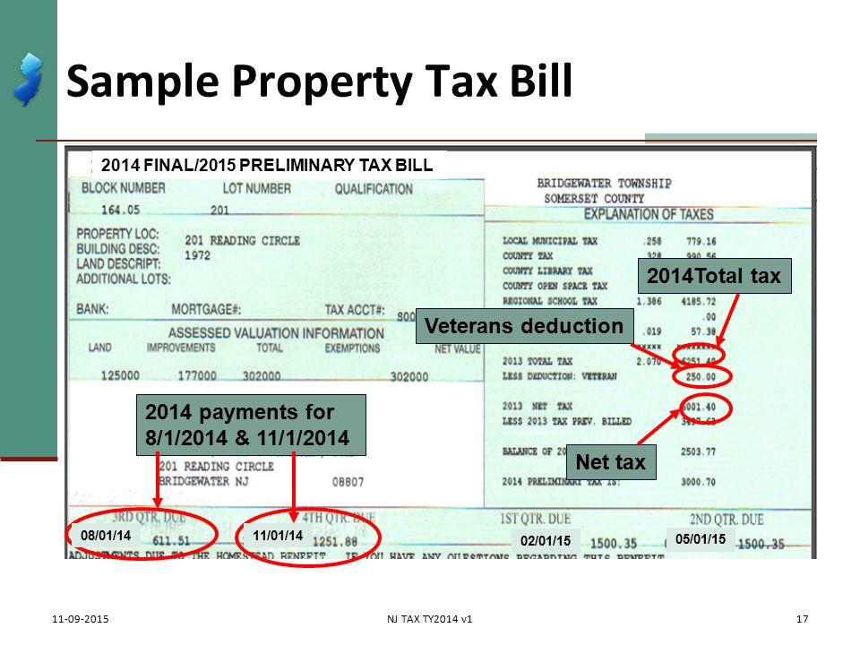 Itemized Deductions NJ Property Tax Deduction Credit Pub 4012 – Itemized Deductions Worksheet 2013